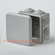 Коробка распаячная для о/п, 120х80х50мм 6ввода, IP54